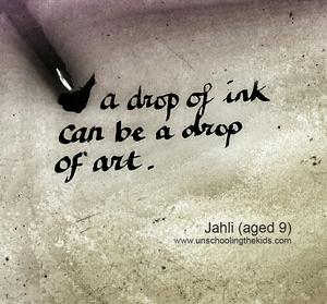 Ink art Jahli