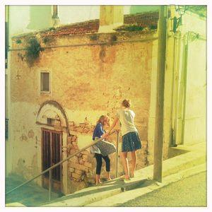 Girls in Puglia