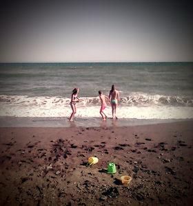 kids sea