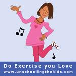 Day 6; Do Exercise you love!